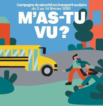 Campagne de sécurité en transport scolaire