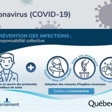 CORONAVIRUS - Trousse d'informations