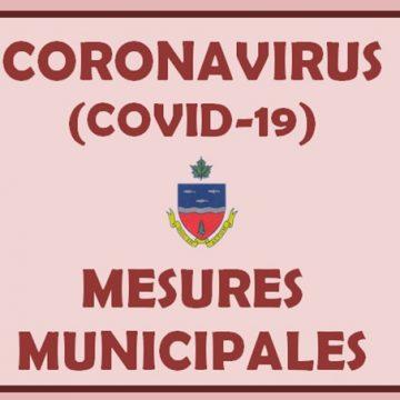 CORONAVIRUS - Informations de votre municipalité
