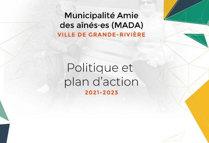 Lancement de la politique et du plan d'action 2021-2023 municipalité amie des ainé(es)